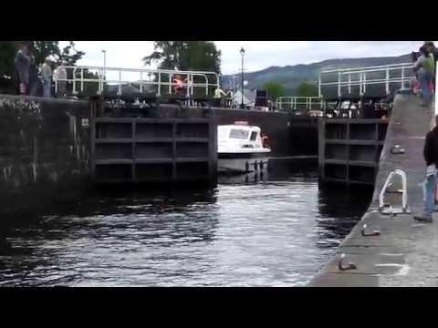 Caledonian Canal Locks, Fort Augustus, Scotland