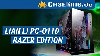 der8auer stellt das Lian Li PC-O11D Razer Edition vor - CasekingTV