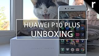 Huawei P10 Plus Unboxing and Hands-on Review: Beastly blower