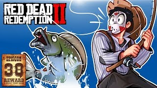 HUNTING FOR LEGENDARY FISH! - RED DEAD REDEMPTION 2 - Ep. 38!
