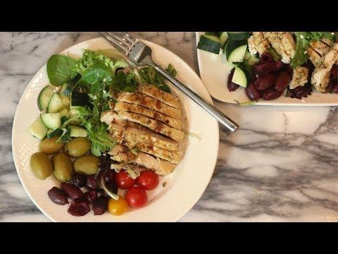 Greek Chicken Salad Recipe: Easy Chicken Recipes