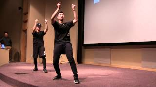 Anthony Lee & Mike Song Kinjaz Performance - Penn State Asian Spotlight 2015