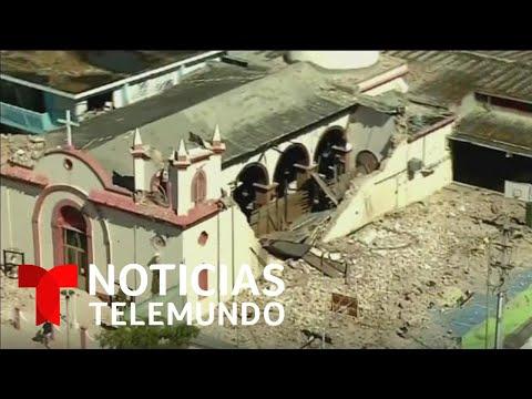 image for Destrucción provocada por terremoto en Puerto Rico- Telemundo