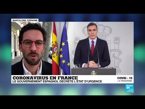 Coronavirus: l'Espagne décrète l'état d'urgence