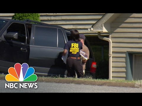 FBI Search Chattanooga Shooter's Parents' Home   Short Take    NBC News