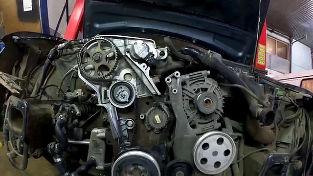 какие двигатели у audi шли с ремнем грм и цепью