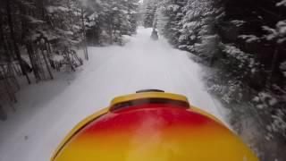 Snowmobiling in Berlin/ Milan, NH | Feb. 11, 2017