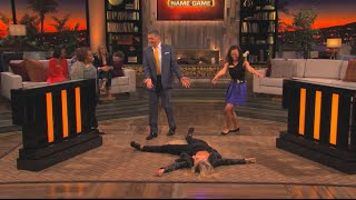 Teri Polo HIT the floor! | Celebrity Name Game