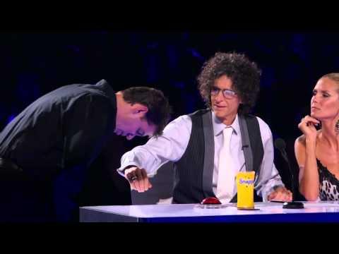 Mike Super BEST MAGIC TRICK EVER TELEPORTS !America's Got Talent  Semi final MAGICIAN Illusionist1