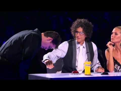 Mike Super BEST MAGIC TRICK EVER TELEPORTS Americas Got Talent  Semi final MAGICIAN Illusionist1