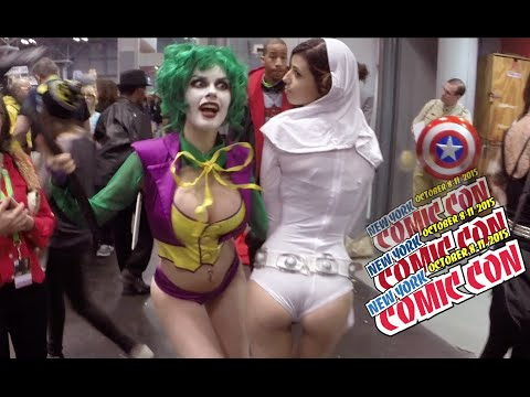 NEW YORK COMIC CON - COSPLAY 10 of the hottest costumes