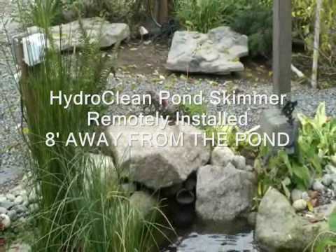 Koi Friendly Pond Skimmers HydroClean by Russell Watergardens & Koi