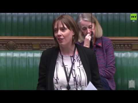 Jess Phillips reads out the names of 130 women killed by men since last #IWD2019 debate