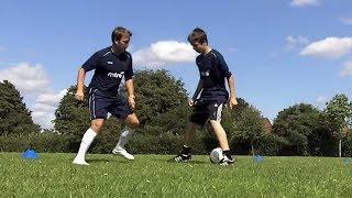 how to do 1 v 1 soccer skills learn football skills tricks moves