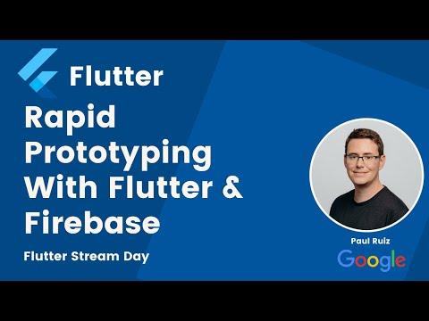 Rapid Prototyping With Flutter & Firebase   Flutter Stream Day Season 1