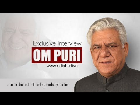 Om Puri - Exclusive Interview - on Acting as a Career