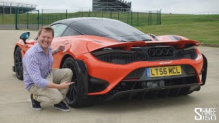 THIS is the New McLaren 765LT! MY FIRST DRIVE