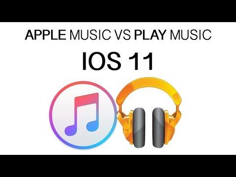 Apple music VS play music (google)