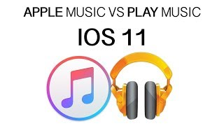 Apple music VS play music (google)