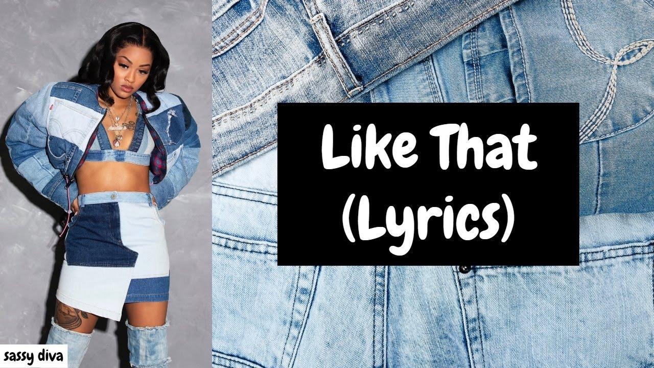 Ann Marie - Like That (Lyrics)