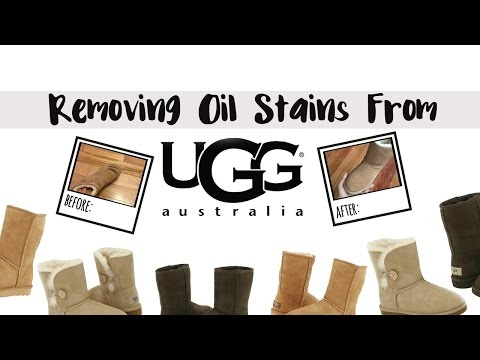 How To Remove Oil/Grease Stains From Uggs