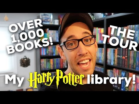 MY 1,000+ HARRY POTTER BOOK COLLECTION LIBRARY