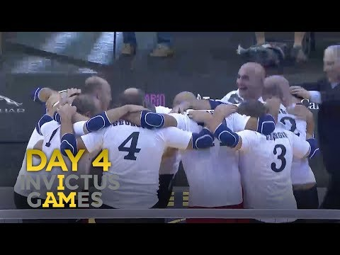 Invictus Games 2017: Georgia Make History | Forces TV
