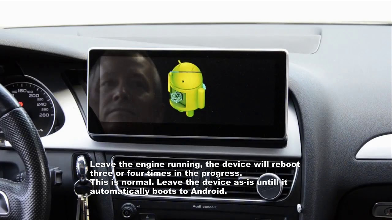 RSNAV Android for Audi Cars: How to update software with TFcard