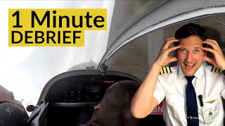 PLANE CRASHES into FOREST  l 1 Minute DEBRIEF (episode 3) by CAPTAIN JOE
