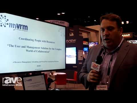 InfoComm 2015: myVRM Discusses the myVRM Scheduling and Conferencing Software