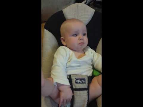 A very emotional baby.  wait for it