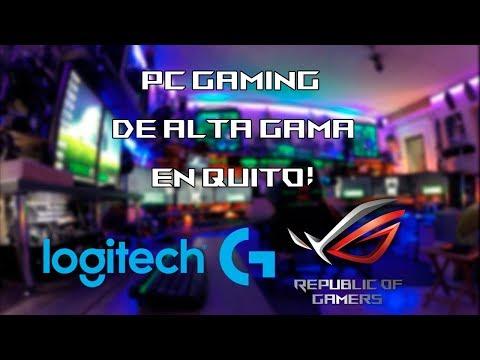 PC GAMING en QUITO el 1 y 2 de DICIEMBRE!! | ASUS - ROG y LOGITECH G!
