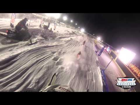 Jake Scott #42 Polaris GoPro Lap | AMSOIL Championship Snocross