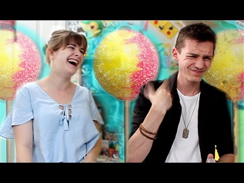 *EXTREME* Sour Candy Challenge