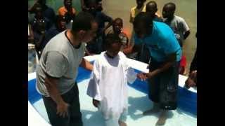 Bautizos de nuestros Hijos en Haiti