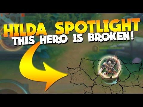 Mobile Legends HILDA SPOTLIGHT (Full Review)