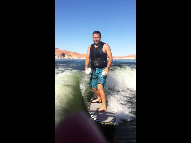 juggling wake surfing