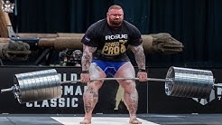Hafþór Júlíus Björnsson going for the WORLD RECORD !! DEADLIFT MONTAGE !!