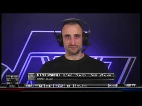 Manu Ginobili interview with Brent Barry 2012-05-07