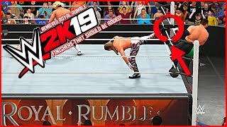 WWE 2K19: Top 5 Removed Royal Rumble Finishers That Must Be in #WWE2K19