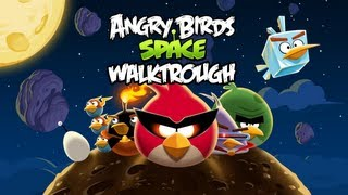 Angry Birds Space - (PC) Gameplay - Planet 1: Pig Bang