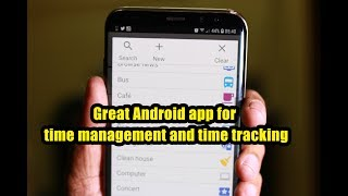Great Android app for time management and time tracking
