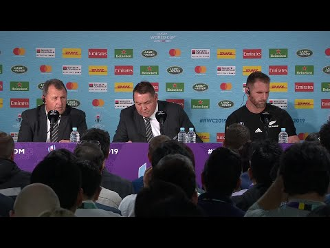 Hansen and Read post match press conference | England v New Zealand
