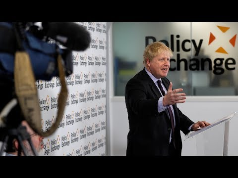 Boris Johnson's Brexit speech - watch live