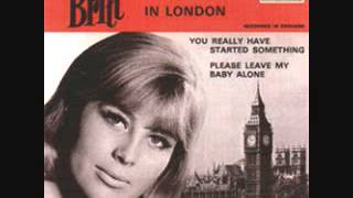 Britt Bergström - Please Leave My Baby Alone (1965)