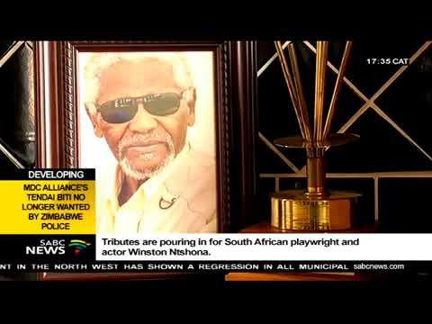 Tributes pour in for Winston Ntshona