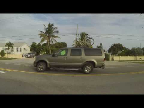 Drive to Key West, Florida, US-1 Overseas Highway, 3 August 2016, Driver's Side View