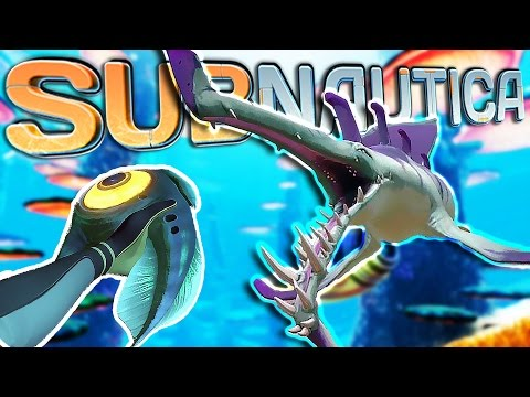 Subnautica | Part 49 | TAMING A STALKER!!