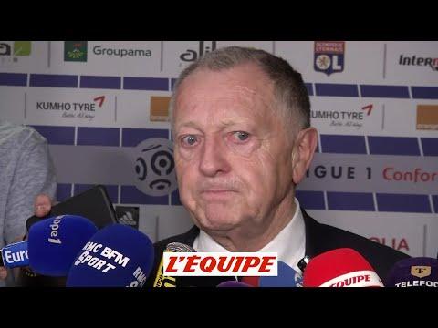 Aulas «Une pensée pour Marseille, qui a tout perdu...» - Foot - L1 - OL