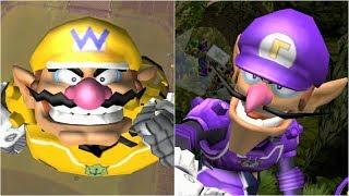 Mario Strikers Charged - Wario vs Waluigi - Wii Gameplay (4K60fps)